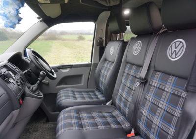 VW BLue Interior 9