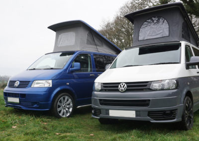 VW BLue and white Exterior 7b